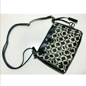 Ellen Tracy Black Crossbody Purse Bag Strap NWOT